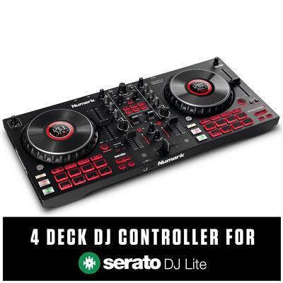 Image of Numark Mixtrack Platinum FX DJ Controller for Serato DJ