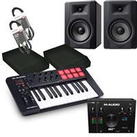Image of M Audio Oxygen 25 & BX5 D3 Studio Recording Bundle