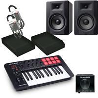 Image of M Audio Oxygen 25 & BX5 D3 Producer Bundle