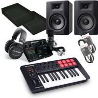 Image of M Audio Oxygen 25 & BX5 D3 Vocal Studio Pro Bundle