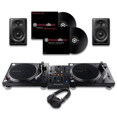 Image of Pioneer DJ PLX500 & DJM450 CUE1 Bundle