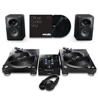 Image of Pioneer DJ PLX500 & DJMS3 Pro Bundle