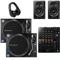 Image of Pioneer DJ PLX1000 & DJM750 mk2 DM40 Bundle