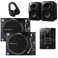 Image of Pioneer DJ PLX1000 & DJMS3 VM50 Bundle