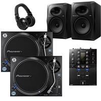 Image of Pioneer DJ PLX1000 & DJMS3 VM80 Bundle