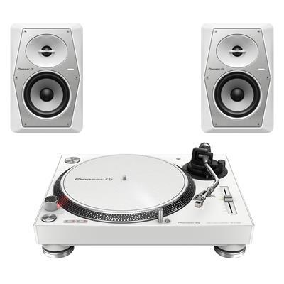 Image of Pioneer DJ PLX500W & VM50W Package