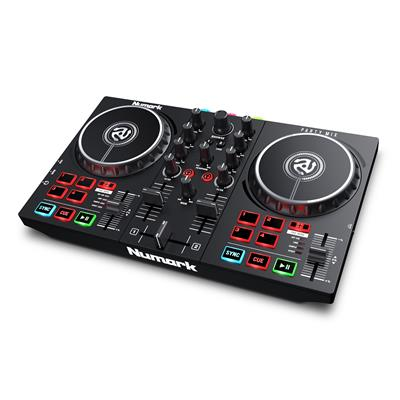 Image of Numark Party Mix Beginner DJ Controller with Built In Light Show
