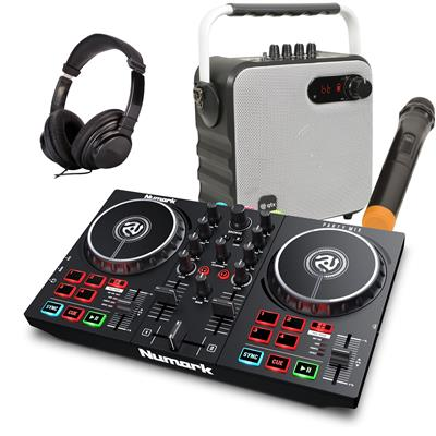 Image of Numark Party Mix II & 1/2 Price Speaker Package White
