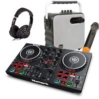 Thumbnail image of Numark Party Mix II & 1/2 Price Speaker Package White