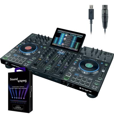 Image of Denon Prime 4 & SoundSwitch Package