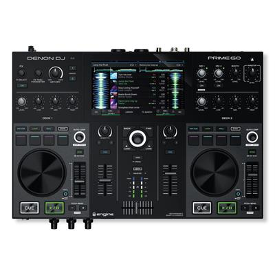 Image of Denon DJ Prime Go 2-Deck Rechargeable Smart DJ Console