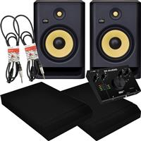 Image of KRK RP8 G4 & AIR 192|4 Package
