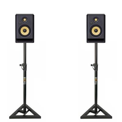 Image of KRK Rokit RP5 G4 & Monitor Stand Package