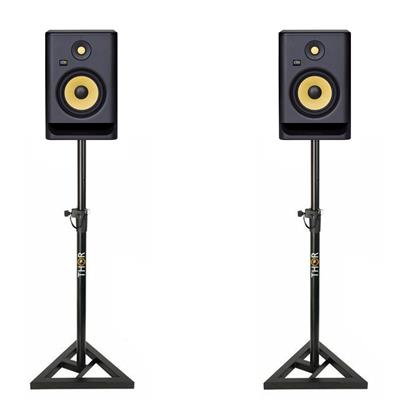 Image of KRK Rokit RP7 G4 & Monitor Stand Package