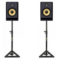 Image of KRK Rokit RP8 G4 & Monitor Stand Package