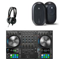 Image of Native Instruments Traktor Kontrol S4 & JBL 104 Bundle