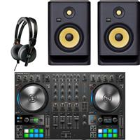 Image of Native Instruments Traktor Kontrol S4 & Rokit RP7 G4 Bundle