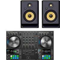 Image of Native Instruments Traktor Kontrol S4 & Rokit RP7 G4 Package