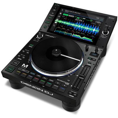 "Image of Denon DJ SC6000M Prime Pro DJ Media Player with 8.5"" Motorised Platter"