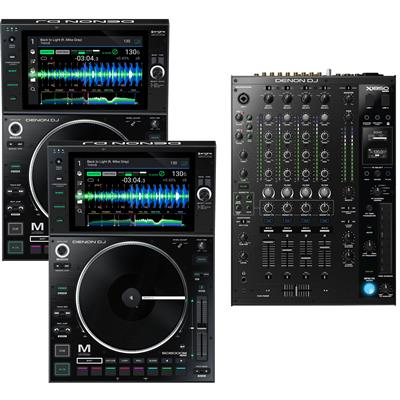 Image of Denon DJ SC6000M & X1850 Package