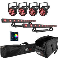 Image of Chauvet SlimPAR & COLORBand Package 1