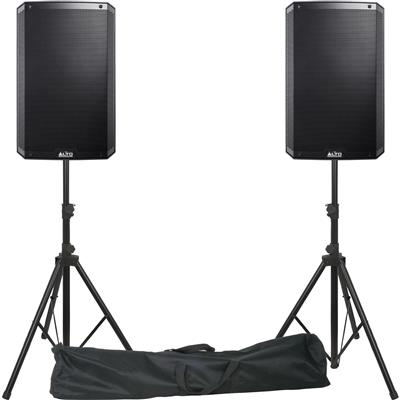 Image of Alto Professional TS315 Pair with Stands & Leads
