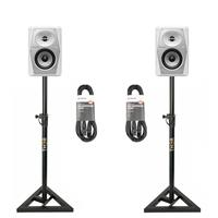 Image of Pioneer DJ VM50W & Monitor Stand Package