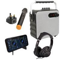 Image of QTX White Party Speaker Bundle for DDJ-200