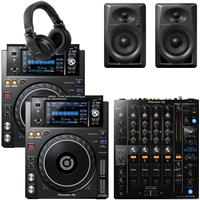 Image of Pioneer DJ XDJ1000 Mk2 & DJM750 Mk2 DM40 Bundle