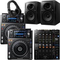 Image of Pioneer DJ XDJ1000 Mk2 & DJM750 Mk2 VM70 Bundle