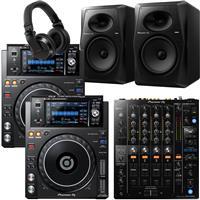 Image of Pioneer DJ XDJ1000 Mk2 & DJM750 Mk2 VM80 Bundle