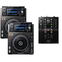 Image of Pioneer DJ XDJ1000 MK2 & DJM250 MK2 Pack