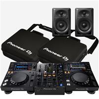 Image of Pioneer DJ XDJ700 & DJM450 & DM40 Bag package