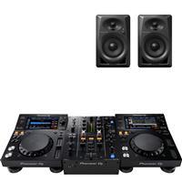 Image of Pioneer DJ XDJ700 & DJM450 & DM40 package