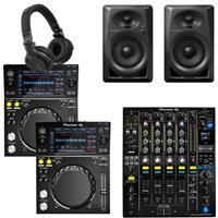 Image of Pioneer DJ XDJ700 & DJM750 Mk2 DM40 Bundle