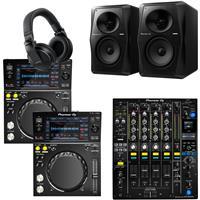Image of Pioneer DJ XDJ700 & DJM750 Mk2 VM50 Bundle