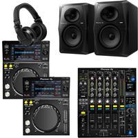 Image of Pioneer DJ XDJ700 & DJM750 Mk2 VM70 Bundle