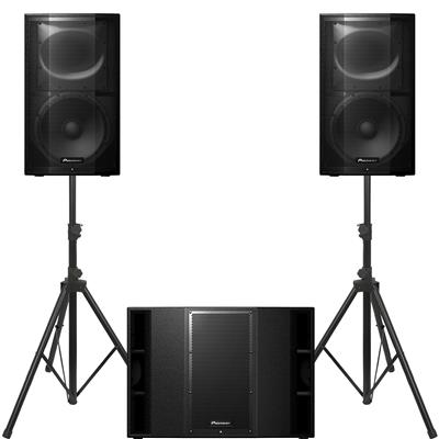 Image of Pioneer DJ XPRS 12 & 1 x XPRS 215S Package